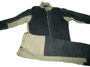 костюм сварщика брезент спилок