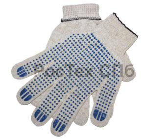 Перчатки рабочие хб с пвх 10кл 1000
