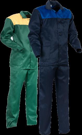 Спецодежда. Костюм рабочий синий с васильковым. Куртка с брюками КБ210