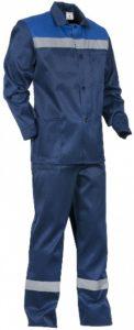 КП238 Спецодежда. Костюм рабочий куртка с полукомбинезоном