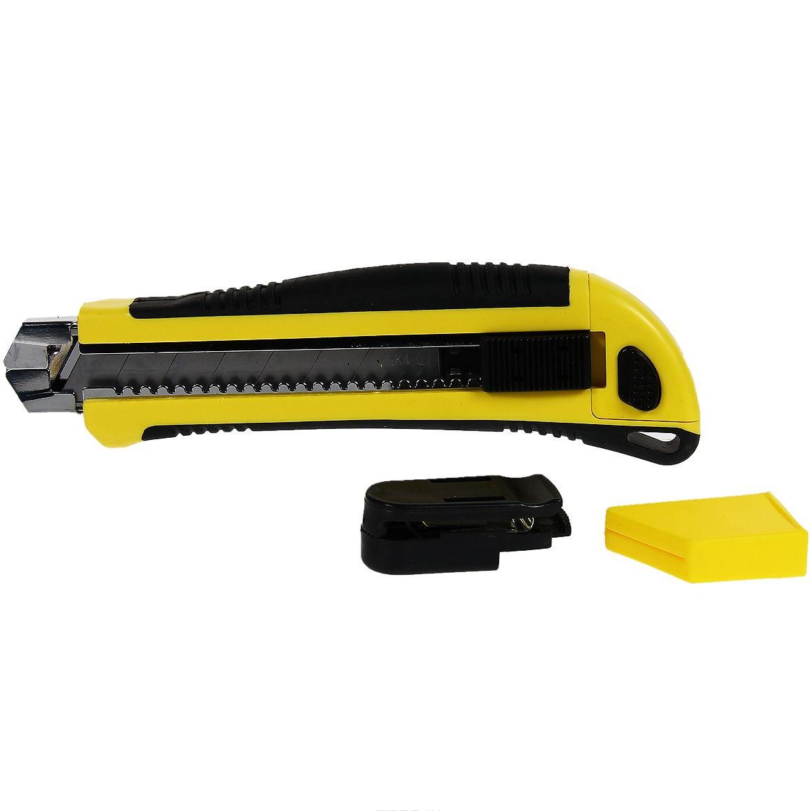 Нож технический строительный усиленный 18 мм