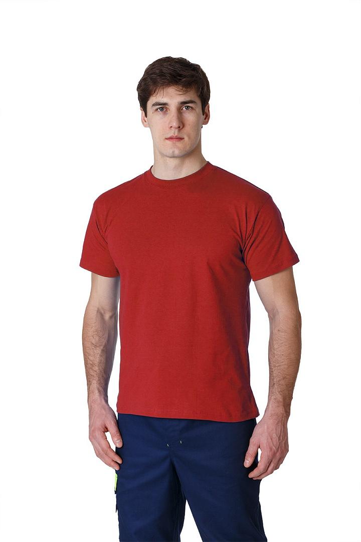 Футболка красная Ф01