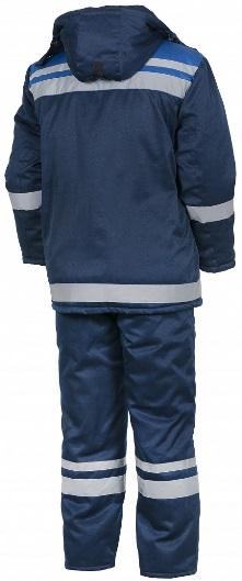 Костюм мужской зимний куртка - брюки КБ3505