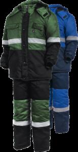 Костюм рабочий зимний с капюшоном КП3502