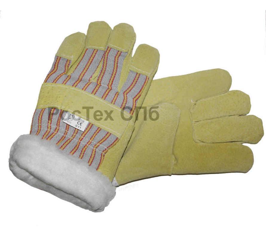 перчатки рабочие, утепленные