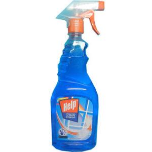 Хелп 500 мл для мытья стекол
