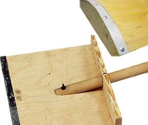 Лопата деревянная снегоуборочная
