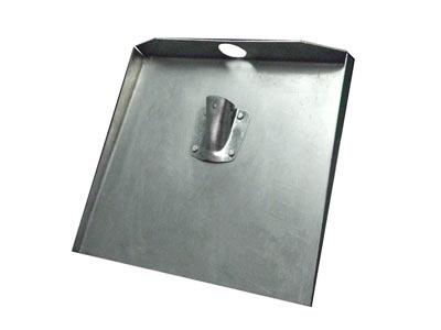 лопата снегоуборочная алюминиевая