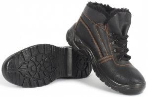 Ботинки утепленные рабочие, мужские