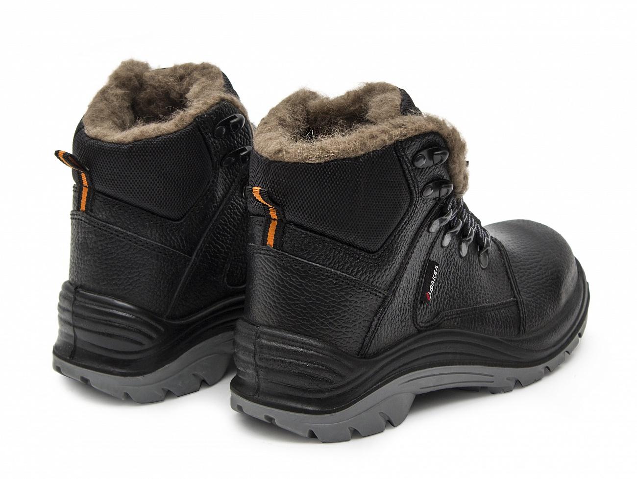 Ботинки рабочие зимние Гранит натуральная шерсть ПУ ТПУ