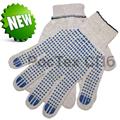 Перчатки хб с пвх, перчатки рабочие купить в спб